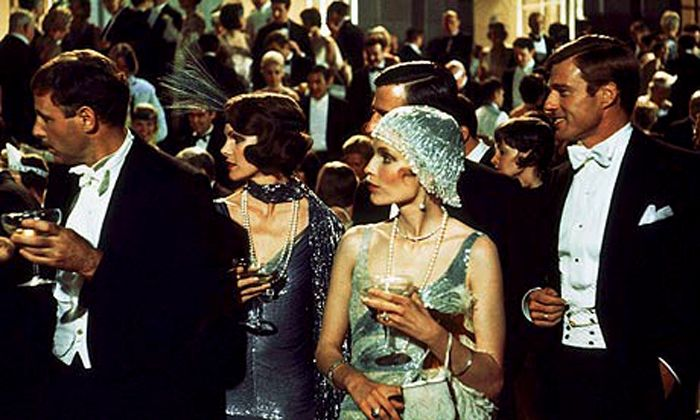 Shot of Gatsby Party (1974 movie)