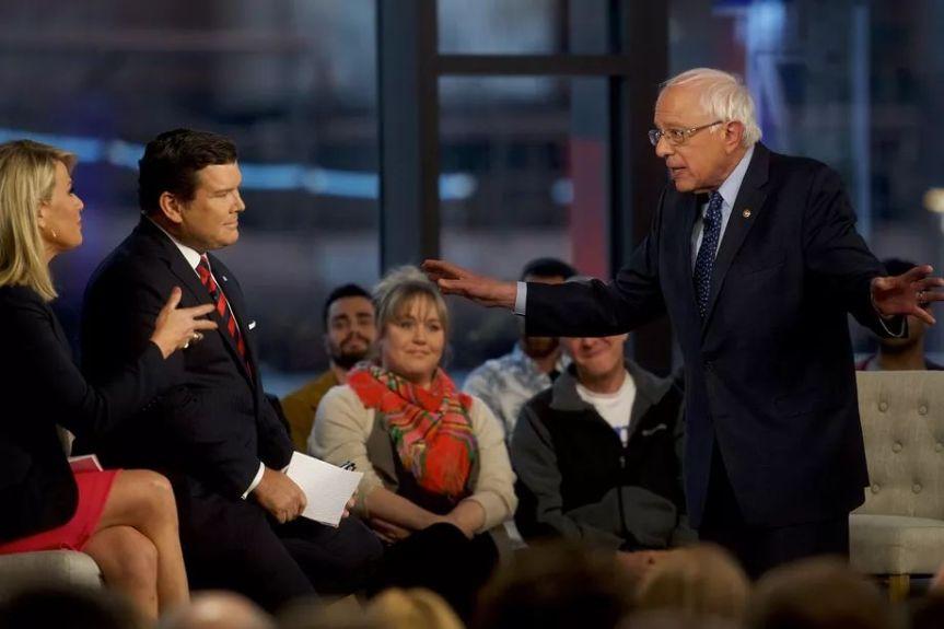 Sanders Effortlessly Crosses the Political Divide in his Fox News' Town HallDebate
