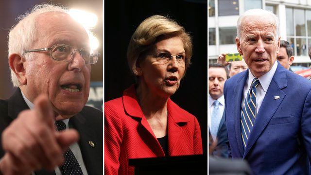 Bernie, Warren & Biden